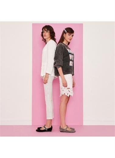 Sole Sisters Babet & Düz Ayakkabı JUAREZ Gri